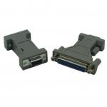 DB9M to DB9F & DB9 to DB25 Null Modem Adapter