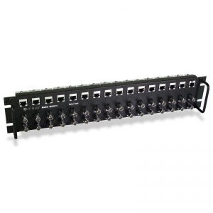 2U Fully Populated Chassis with 16 Balun Modules