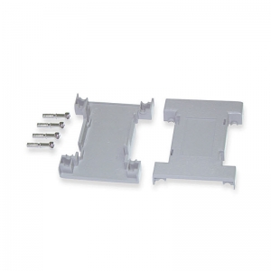 DB15 GENDER CHANGER ENCLOSURE KIT GREY PLASTIC