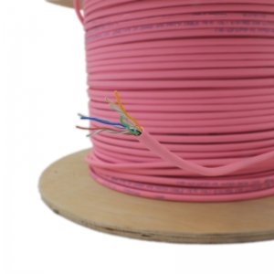 CAT5e Pink Cable Reel