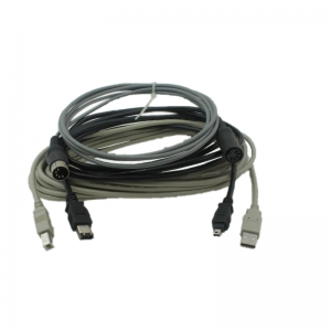 USB, PS2 and Firewire cables