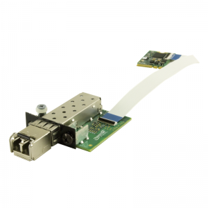 NIC 100Base-FX to SGMII SFP media converter
