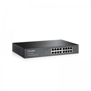 16-Port 10/100Mbps Desktop/Rackmount Switch