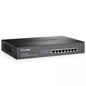 8-Port Gigabit Desktop/Rackmount Switch with 8-Port PoE+