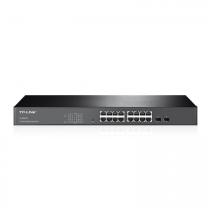 16-Port Gigabit Smart Switch with 2 Combo SFP Slots