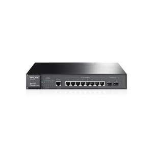 JetStream 8-Port Gigabit L2 Managed Switch with 2 SFP Slots